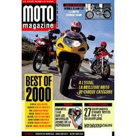 Moto Magazine n° 173 - décembre  2000 - janvier 2001