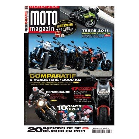 Moto Magazine n° 273 - Décembre 2010 - Janvier 2011