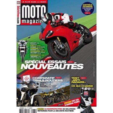Moto Magazine n° 285 - Mars 2012