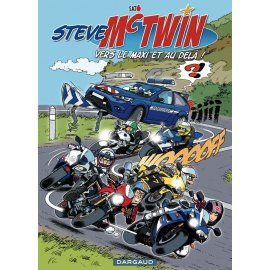 BD Steve Mc Twin (tome 1) : Même pas maaaal !