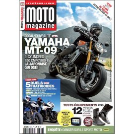 Moto Magazine n° 301 – Octobre 2013