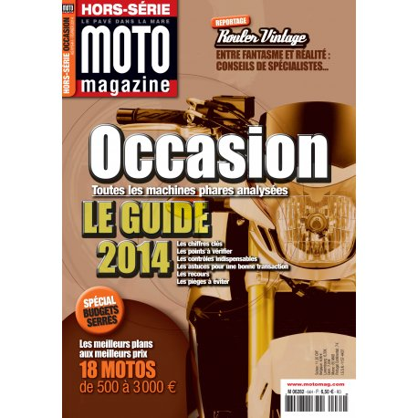 Moto Magazine hors-série Occasions 2014