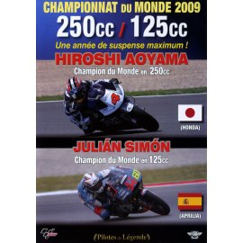 DVD moto n° 19 : Championnat du Monde moto 2009 - 250cc / 125cc