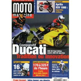 Moto Magazine n° 150 - septembre 1998