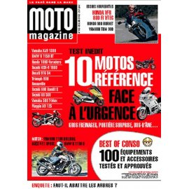 Moto Magazine n° 183 - décembre 2001 - janvier 2002