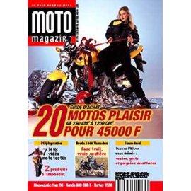 Moto Magazine n° 153 - décembre 1998 - janvier 1999