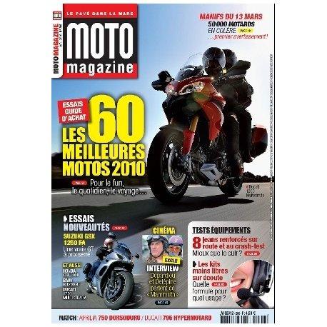 Moto Magazine n°266 - Avril 2010