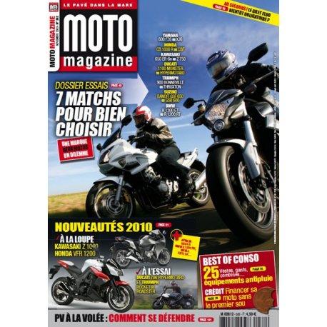 Moto Magazine n°262 - novembre 2009