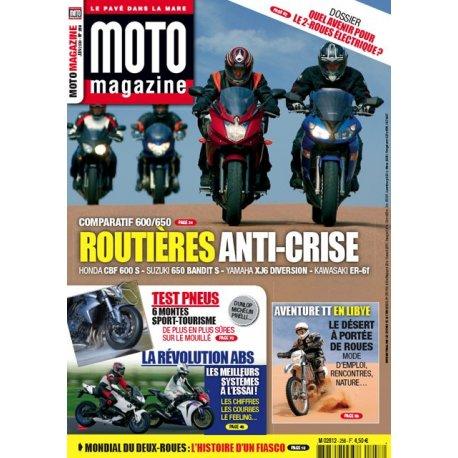 Moto Magazine n°258 - juin 2009