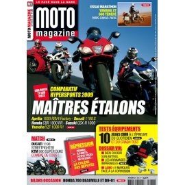 Moto Magazine n°260 - septembre 2009