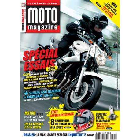Moto Magazine n°255 - mars 2009