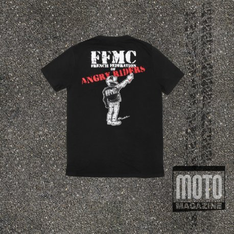 "T-shirt ""Angry Rider"" des motard en colère"