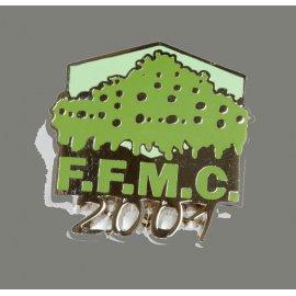 """Pin's moto FFMC 2001 : """"La manif"""""""
