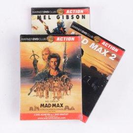Lot de DVD Mad Max I - II - III : la trilogie !