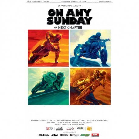 "DVD moto : On any sunday ""the next chapter"""