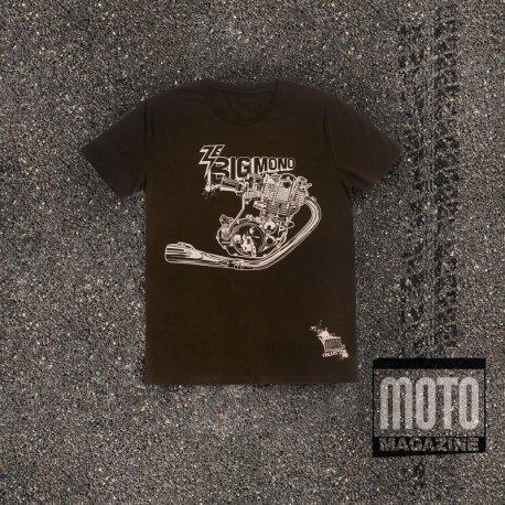 "T-shirt Yamaha 500 XT/SR ""Ze big mono"""