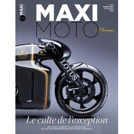 MAXI MOTO n° 1 – Le culte de l'exception - Nov 2015