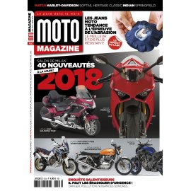 Moto Magazine n° 343 - Décembre 2017 - version PDF