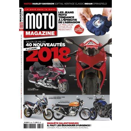Moto Magazine n° 343 - Décembre 2017