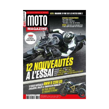 Moto Magazine n° 335 - Mars 2017