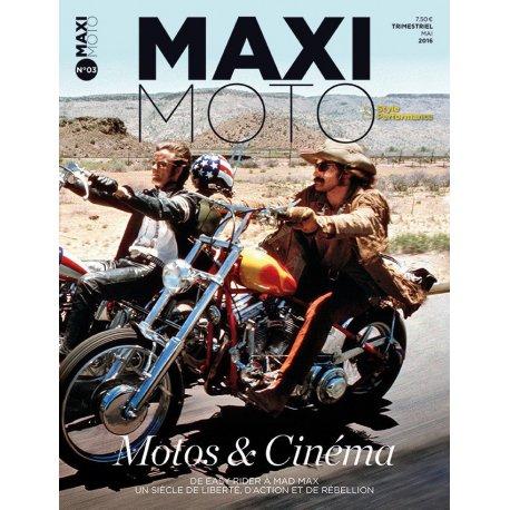 MAXI MOTO n° 3 – Motos et Cinéma - Mai 2016