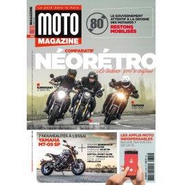 Moto Magazine n° 345 - Mars 2018