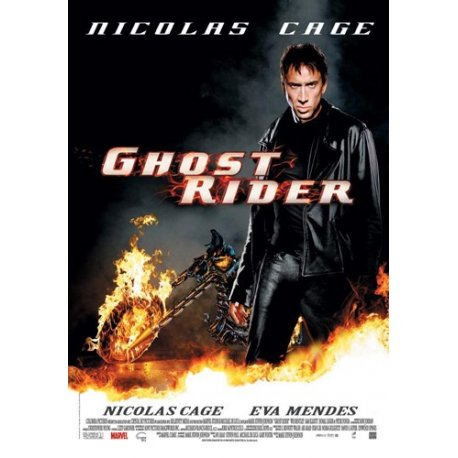 "DVD moto fiction - le Film ""Ghost Rider"""