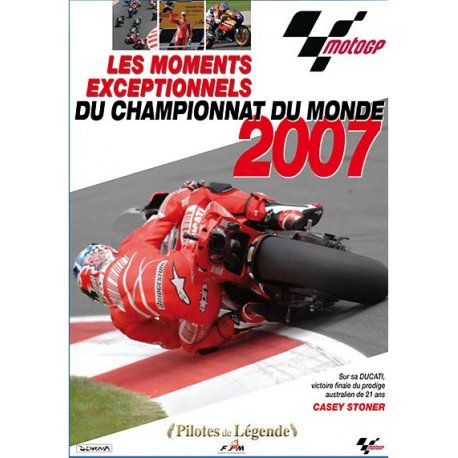 DVD MOTO EXCEPTIONNEL : Le best of du MotoGP 2007 !