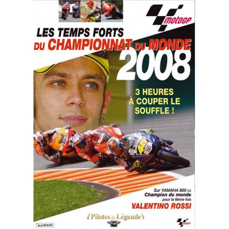 Toute la saison MotoGP 2008 en DVD