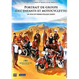DVD Portrait de groupe avec enfants et motocyclettes