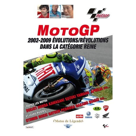 DVD - MotoGP : 2002-2009 évolutions/révolutions