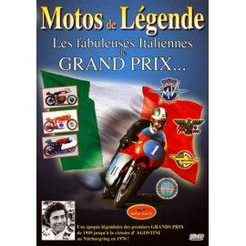 DVD n°1 - Les fabuleuses motos Italiennes de GP