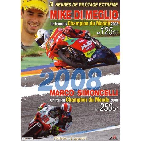 Les grands moments du championnat moto 2008 125 & 250 cc en DVD