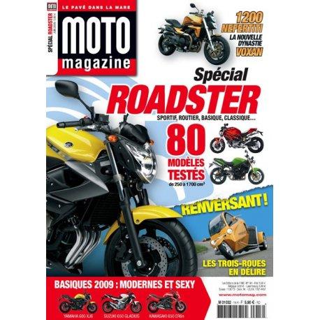 Moto Magazine Spécial roadster 2009 - N°14 – juin 2009