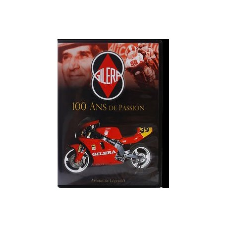 DVD – GILERA : 100 ans de passion