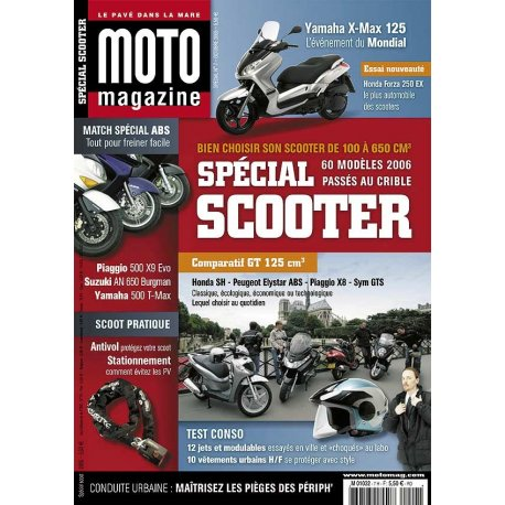 Moto Mag spécial : Scooter 2005 - Octobre 2005