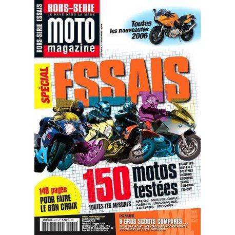Moto Mag : Hors-série Essais 2005 - Novembre 2005 - N°31