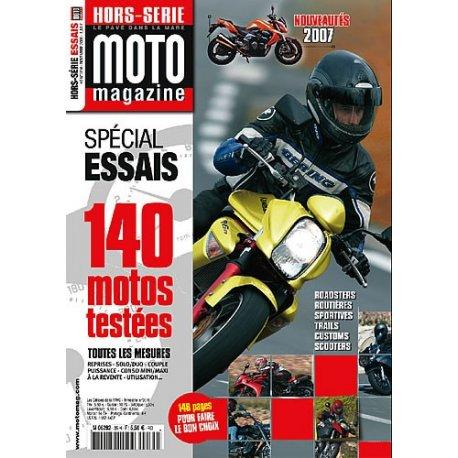 Moto Mag : Hors Série Essais 2006 - En kiosque 5,50 €, à partir du 24 novembre