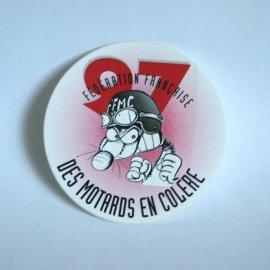 """Motocollant FFMC 1997 : """"Le rat's motard en colère"""" (par Ptiluc)"""
