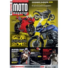 Moto Magazine n°283 - Décembre 2011/ Janvier 2012
