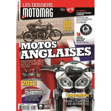 Les dossiers de Motomag N°5 : Motos Anglaises