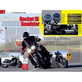 Essai TRIUMPH Rocket III Roadster : Péniche à réaction (2009)