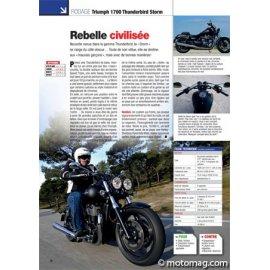 Essai Triumph 1700 Thunderbird Storm : Rebelle civilisée (2011)