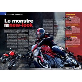 Essai Ducati 1100 Monster EVO : Monstre new-look (2011)