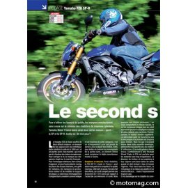 Essai Yamaha FZ8 SP-R : Le second souffle (2011)
