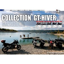 Essai GT : Aprilia750 Shiver - Honda CBF 1000 - KTM 990 - Triumph 1050 ST - Yam TDM 900 (2010)