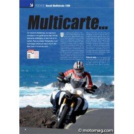 Essai DUCATI Multistrada 1200 : Multicarte… Bleue (2010)