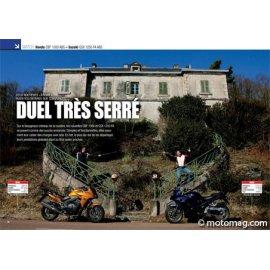 Essai HONDA CBF 1000 ABS – SUZUKI GSX 1250 FA ABS : Duel très serré (2010)