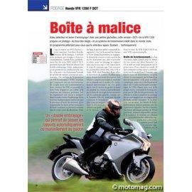 Essai HONDA VFR 1200 F DCT : Boîte à malice (2010)