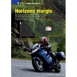 Essai TRIUMPH 1050 Sprint GT : Horizons élargis (2010)
